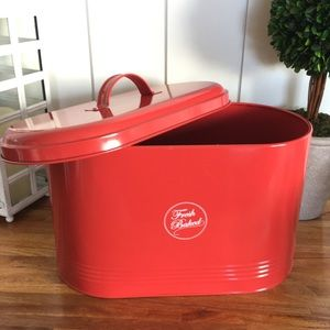 Kitchen - Bread Box Tin with Lid (Never used)